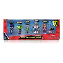Kit Teen Titans/ Jovens Titãs - 6 Personagens.