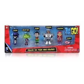 Kit Teen Titans/ Jovens Titãs - 6 Personagens. Original!
