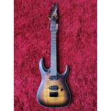 Guitarra Eléctrica Ibanez Rga42fm Dragon Eye Burst Flat