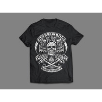 Camisa Affliction - Caveira Piston