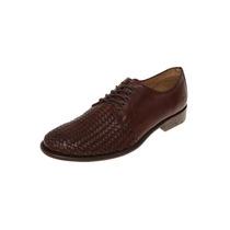 Paruno - Zapato Con Tejido - Café - P216774
