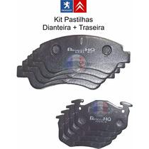 Kit Pastilhas Dianteiras E Traseiras Peugeot 206 1.6 16v