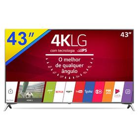 Smart Tv Lg 43 Ultra Hd 4k Com Wi-fi E Conversor - 43uj6525