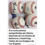 Vendo Pelotas De Béisbol De Coleccion