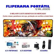 Fliperama Portátil Slim 3 Em 1 - Samurai Shodown