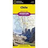 Chile (mapa Geográfico Nacional De La Aventura)