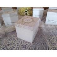 Souvenirs Original Cajas Cubicas Grandes Personalizadas