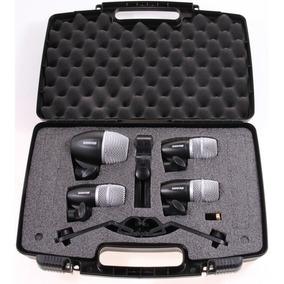 Shure Pgdmk4-xlr Kit De Microfono De Bateria