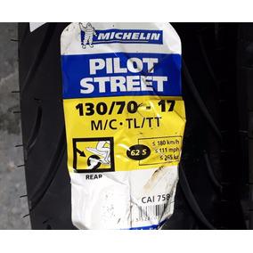 Pneu Moto Michelin Pilot Street 130 70 17 Fazer 250 Twister