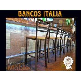 Bancos De Acero Para Barra Restaurante Bar Antro Cafetería