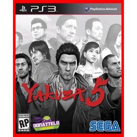 Yakuza 5 Ps3 Psn Play 3 Promocao Melhor Preço Do Mercado!!