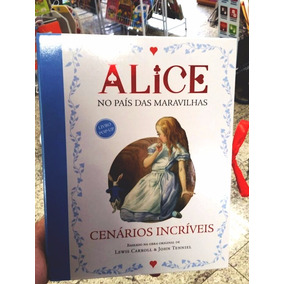Livro Alice No Pais Das Maravilhas - C/ Cenário Pop-up