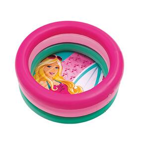 Barbie Piscina Inflável Pequena 68 Litros - Fun