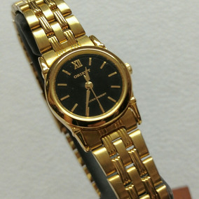 Mercadolibre reloj orient dorado mujer