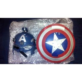 Mascara Y Escudo Del Capitan America Hasbro