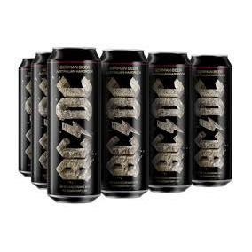 Pack Set Kit 24 Cervezas Acdc Banda Oficial Lata 568ml Rock