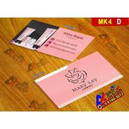 Cartão De Visita 9x5 Mary Kay Arte Pronta Mk4d