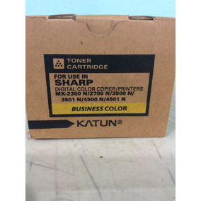Toner Sharp Mx2300/2700/3500/3501/4500/4501 Amarillo Katun