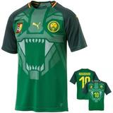 f03e68d15170e Camisa De Futebol Da Seleção De Camarões - Camisas de Futebol no ...