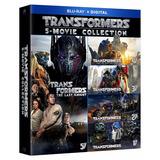 Coleccion Transformers Bluray Original 5 Peliculas Español