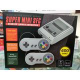 Consola Super Mini Sfc 400 Juego + Envio Gratis