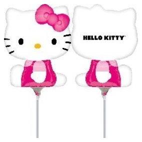 Globo Hello Kitty. Mini Shape. Ideal Para Centro De Mesa