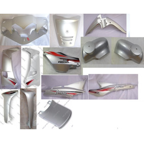 Kit De Carenagens Prata Phoenix 50cc Shineray