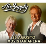 2 Entradas Para Air Supply En Movistar Arena