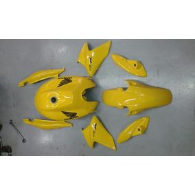 Kit Completo Com Tanque E Carenagens Cb300 2013/14 Amarelo