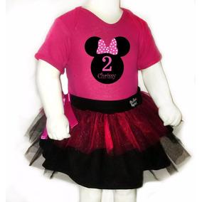 Disfraz Halloween Pañalero +tutu- Minnie Mouse Personalizado