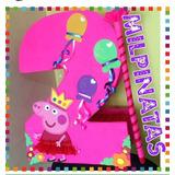 Piñatas Entamboradas De Números, Peppa,soy Luna,cars,ladybug