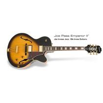 Guitarra Semi Acustica Epiphone Iimperor Ii Joe Pass Usada