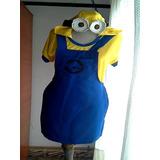 Traje Disfraz De Minions (mujer)