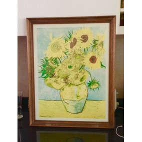 Cuadro Reproduccion Van Gogh - Los Girasoles