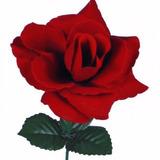 50 Rosas Artificiais Bizz- Atacado Flores Artificial Abertas