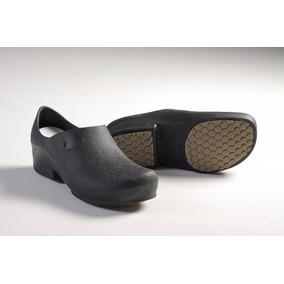 Sapato De Segurança Sticky Shoe Ca 27.891 Cor Preta