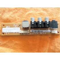 Placa Av Lateral Tv Lcd Semp Toshiba Lc4245w Lc4245