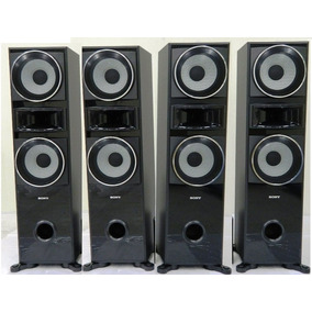 Cj 04 Caixas Acusticas Sony Muteki 7600 185w Cada