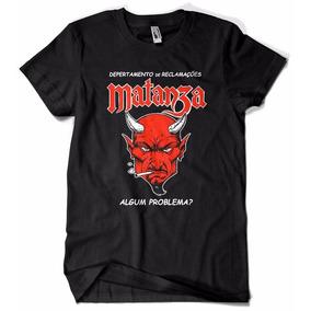 Camiseta Banda Matanza Rock Nacional Sac Camisa