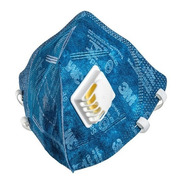 1 Máscara Azul 3m 9822 Pff2 Com Válvula N95 - C/ Nota Fiscal