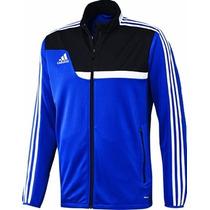 Campera Adidas Tiro 13 Original Azul Negra Talle S Climacool