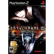 Fatal Frame 3 The Tormented Ps2