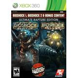 Bioshock Ultimate Rapture Xbox 360 Nuevo Citygame Ei