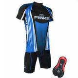 Kit Conjunto Ciclista Masculino Bermuda + Camisa P-m-g E Gg