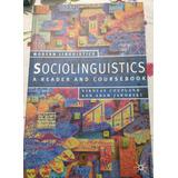Sociolinguistics A Reader And Coursebook De Nikolas Coupland