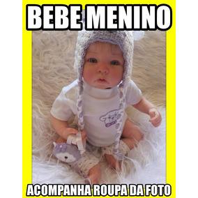 Bebe Reborn Menino Davi Frete Gratis