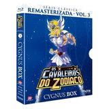 Blu-ray Os Cavaleiros Do Zodíaco, Cygnus Box, V.3