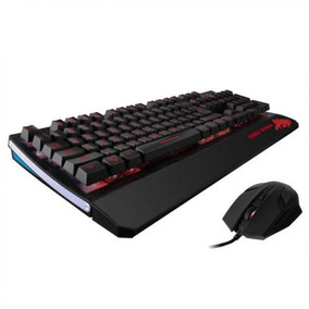 Kit Gamer Teclado Y Mouse Eagle Warrior Wild Beast G75 Y G15