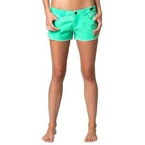 Short Fox Racing Womens Boardshorts Acid Green + Envio