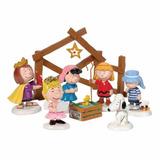 Nacimiento Snoopy Woodstock Y Amigos Peanuts Envio Gratis